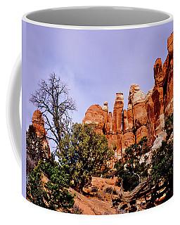 Chesler Park Pinnacles Coffee Mug by Ed  Riche