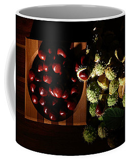 Coffee Mug featuring the photograph Chestnuts by David Andersen