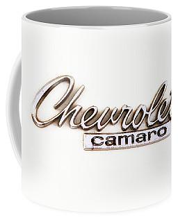 Chevrolet Camaro Emblem Coffee Mug by Jerry Fornarotto