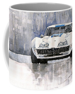 Chevrolet Corvette C3 Coffee Mug