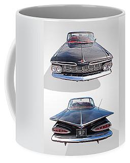 Chevrolet Impala 1959 Front And Rear Coffee Mug