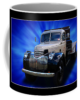 Coffee Mug featuring the photograph Chevrolet Maple Leaf Truck by Keith Hawley