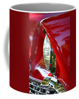 Chevy Headlight Coffee Mug by Dean Ferreira