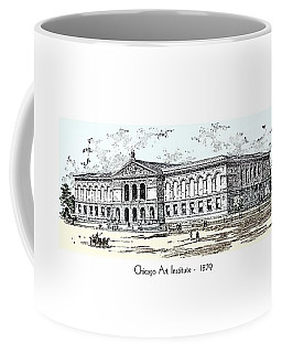 Chicago Art Institute -  1879 Coffee Mug