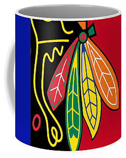 Chicago Blackhawks 2 Coffee Mug by Tony Rubino