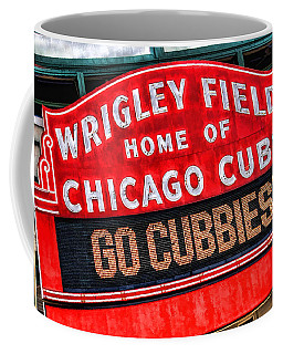 Chicago Cubs Wrigley Field Coffee Mug by Christopher Arndt