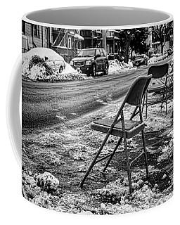 Chicago Dibbs Parking Scene Coffee Mug
