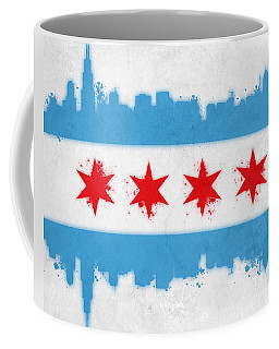 Chicago Flag Coffee Mug