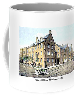 Chicago Illinois - Hull House - Halstead Avenue - 1906 Coffee Mug