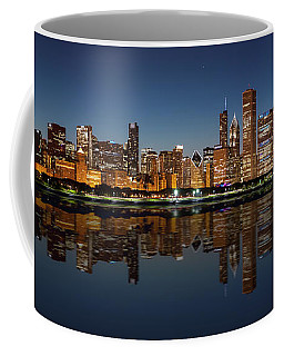 Chicago Reflected Coffee Mug by Semmick Photo