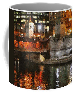 Chicago River At Michigan Avenue Coffee Mug