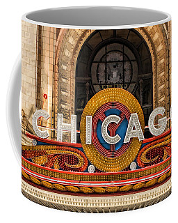 Chicago Theatre Marquee Sign Coffee Mug