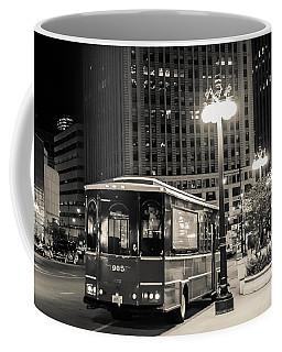 Chicago Trolly Stop Coffee Mug