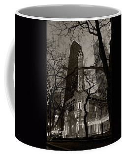 Chicago Water Tower B W Coffee Mug