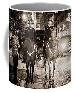 Chicago's Finest Coffee Mug by Melinda Ledsome