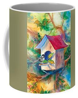 Chickadee Bungalow Coffee Mug