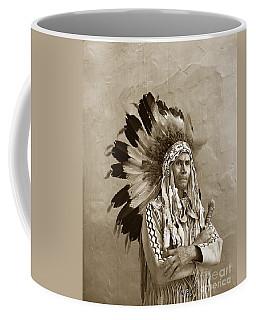 Chief Red Eagle Carmel California Circa 1940 Coffee Mug