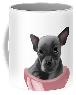 Chihauhau In A Bowl Coffee Mug