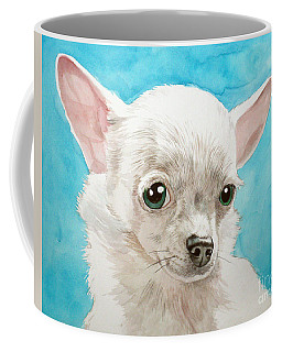 Chihuahua Dog White Coffee Mug