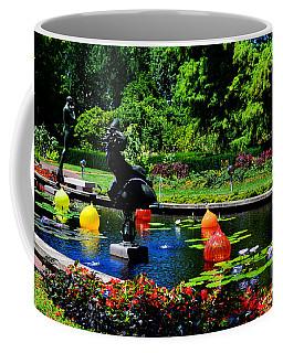 Chihuly Glass Balls In Missouri Botanical Garden Coffee Mug