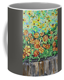 Childlike Flowers Coffee Mug