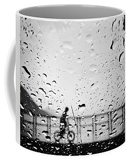 Children In Rain Coffee Mug