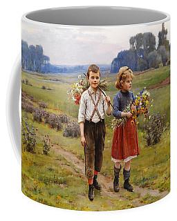 Children On The Way Home Coffee Mug
