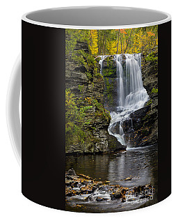 Childs Park Waterfall Coffee Mug by Susan Candelario