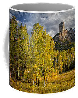 Chimney Rock San Juan Nf Colorado Img 9722 Coffee Mug