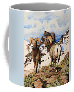 Chimney Rock Thunderheads Coffee Mug