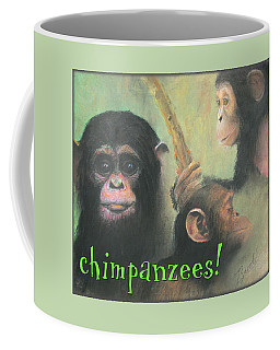 Chimpanzees - Art 4 Kids Coffee Mug