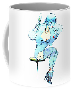China Girl Coffee Mug