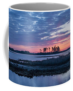 Chincoteague Wildlife Refuge Dawn Coffee Mug by Photographic Arts And Design Studio
