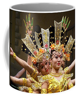 Chinese Dancers Perform Thousand Hands Guan Yin Coffee Mug
