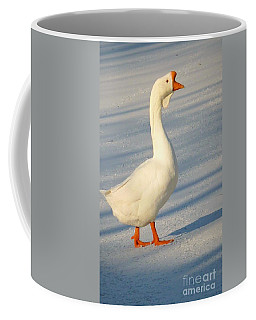 Chinese Goose Winter Coffee Mug