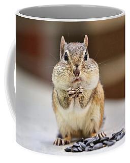 Chipmunk With Full Cheeks Coffee Mug