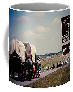 Chisholm Trail Centennial Cattle Drive Coffee Mug