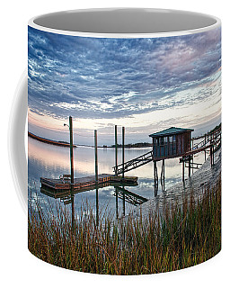 Chisolm Island Docks Coffee Mug