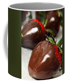 Chocolate Covered Strawberries Coffee Mug