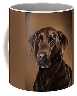 Chocolate Lab Coffee Mug
