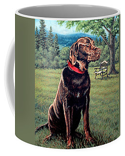 Chocolate Lab Coffee Mug