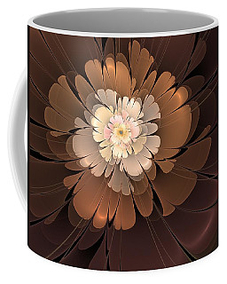 Coffee Mug featuring the digital art Chocolate Lilly by Svetlana Nikolova