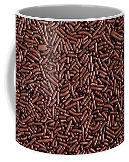 Chocolate Vermicelli Background Coffee Mug