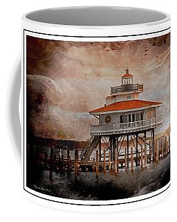 Choptank River Lighthouse Coffee Mug by Suzanne Stout