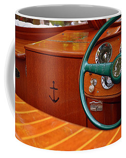 Chris Craft Cockpit Coffee Mug