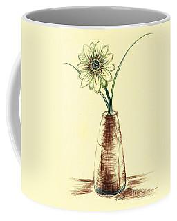 Chrysanthemum Flower Coffee Mug