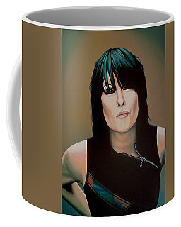 Chrissie Hynde Painting Coffee Mug