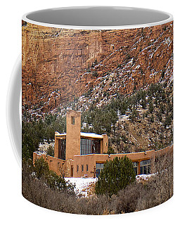 Christ In The Desert Monastery Coffee Mug