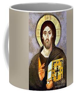 Christ Pantocrator Of Sinai Coffee Mug