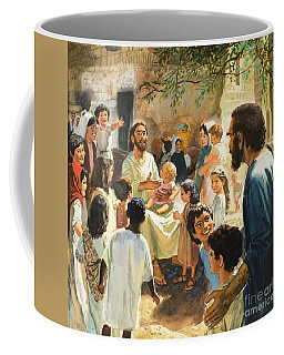 Christ With Children Coffee Mug